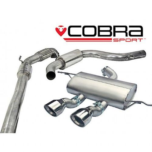 Seat Leon Cupra R Turbo Back Exhaust (Sports Catalyst / Resonated) SE29a